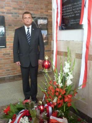 Wicewojewoda Podlaski Wojciech Dzierzgowski przy Tablicy