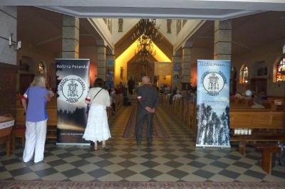 Wnętrze Kościoła p.w. św. Jana Chrzciciela