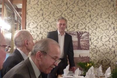 Spotkanie prowadzi Dyr. RCIiWOP Jerzy Boczoń