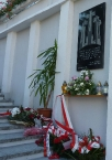 Odsłonięcie tablicy ponarskiej w Tarnobrzegu 2015