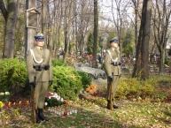 Warta Honorowa przy Pomniku Ponarskim