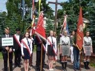 Poczty Sztandarowe (już bez SP  im. AK w Janówce)