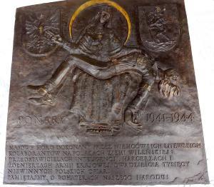 """PONARY 1941 -1944"""" - nowe dzieło Mistrza Andrzeja Pityńskiego. Płaskorzeźba w brązie"""